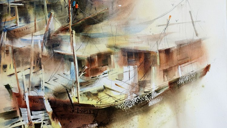 "The 1st International Watercolour Exhibition ""Freedom of Self Expression"""