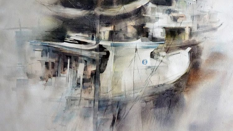 1st International Watercolor Biennale – 24 Master Exhibition, Thailand