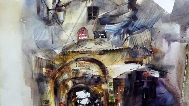 "Biennial International Prize ""Marche d'Acqua"" Fabriano Watercolour 2018"