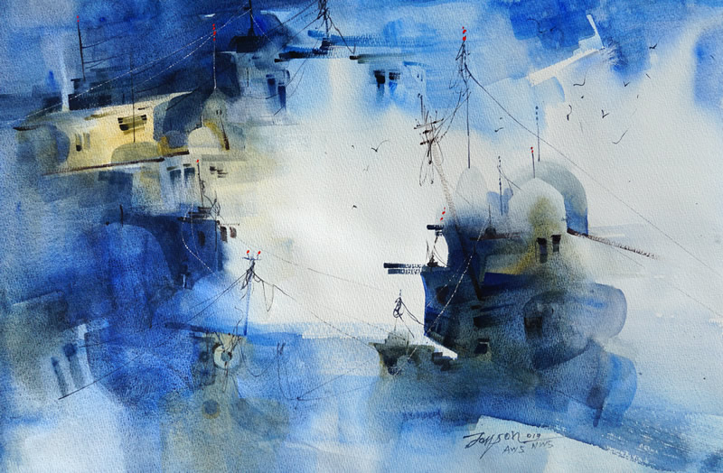 1st International Art Festival – World Of High Watercolor 2019, Moscow Russia