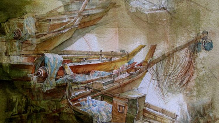 (SWA) Society of Watercolor Artists – International Watermedia Annual Juried Exhibition 2014