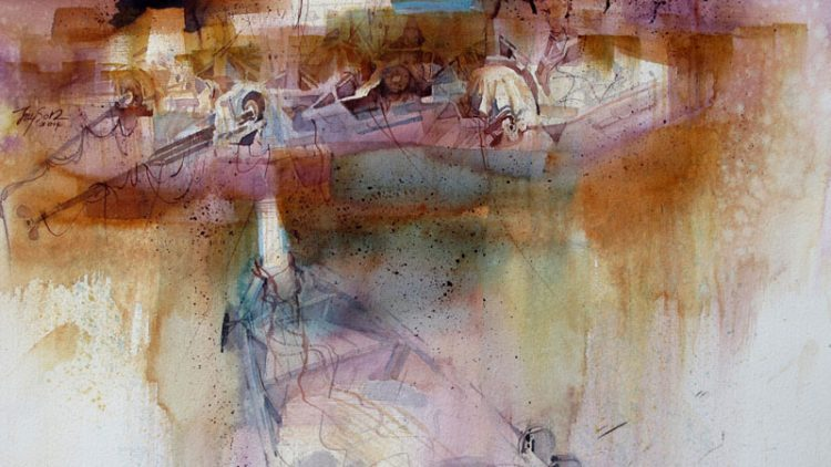 2015 Masters of Watercolor Exhibition, St. Petersburg