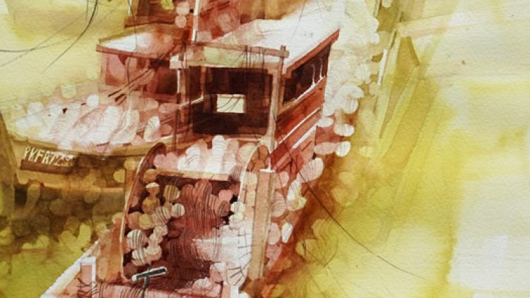 2014 Watercolor competition Splash 17 by ArtistSnetwork, USA