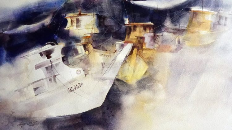 Exhibition of NWS(National Watercolor Society)
